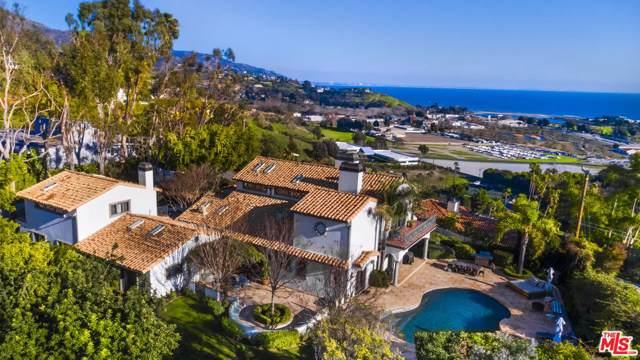 3453 Coast View Drive, Malibu, CA 90265 (#20544848) :: Pacific Playa Realty