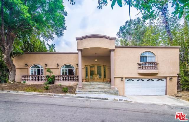 4917 Tarzana Woods Drive, Tarzana, CA 91356 (#20543854) :: Randy Plaice and Associates