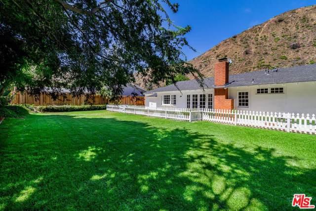 5945 Paseo Canyon Drive, Malibu, CA 90265 (#20545502) :: Randy Plaice and Associates