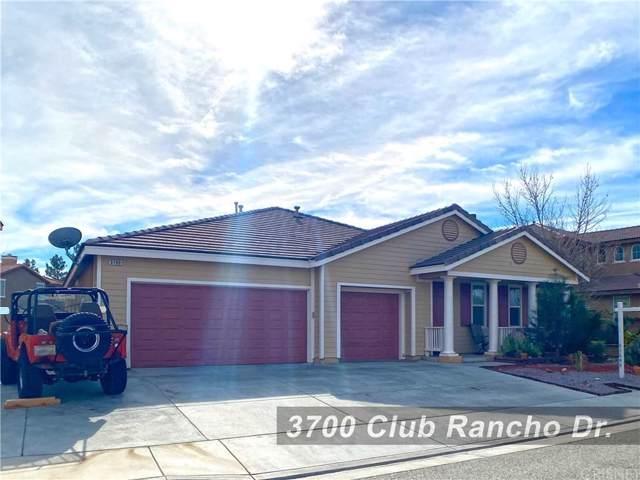 3700 Club Rancho Drive, Palmdale, CA 93551 (#SR20013356) :: TruLine Realty