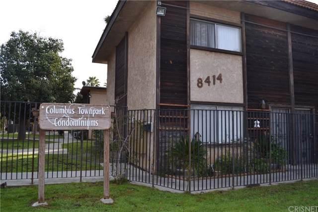 8414 Columbus Avenue #10, North Hills, CA 91343 (#SR20012759) :: Randy Plaice and Associates
