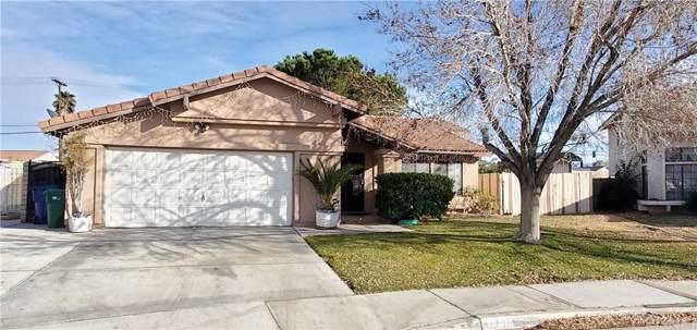 37616 Rose Street, Palmdale, CA 93552 (#SR20012359) :: TruLine Realty