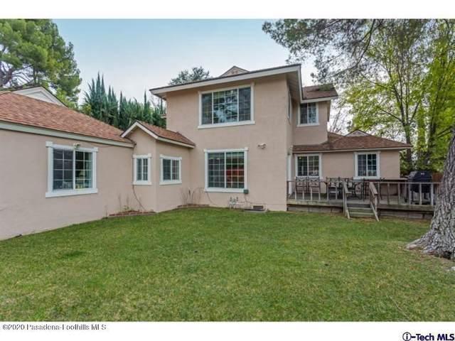 4909 Burgoyne Ln, La Canada Flintridge, CA 91011 (#820000254) :: The Parsons Team