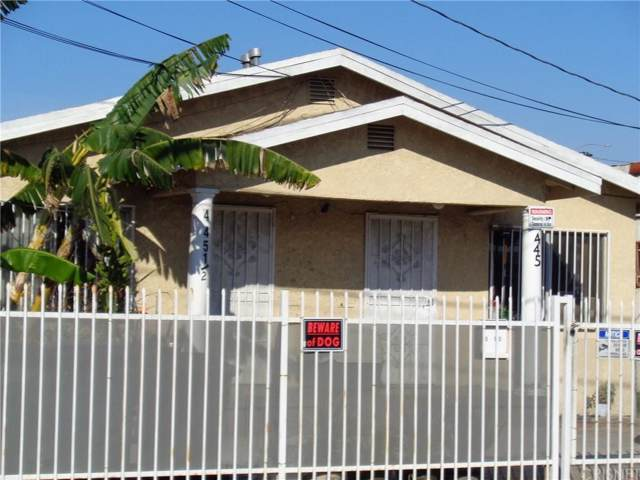 445 W 88TH Street, Los Angeles (City), CA 90003 (#SR20014814) :: Lydia Gable Realty Group