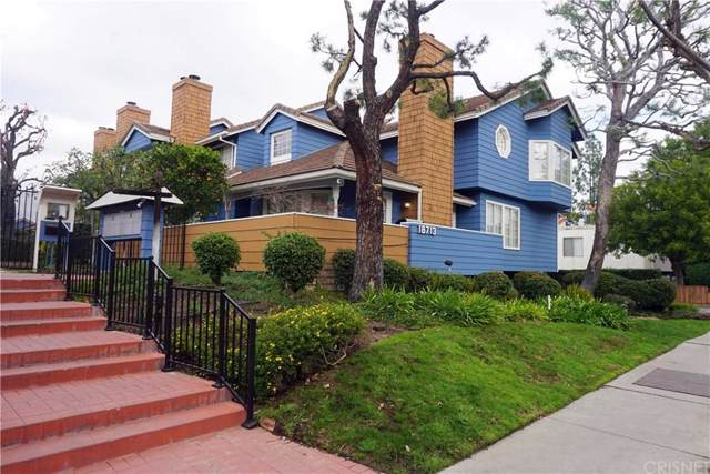 18713 Hatteras Street #7, Tarzana, CA 91356 (#SR20000580) :: Randy Plaice and Associates