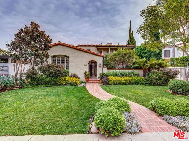 312 S Linden Drive, Beverly Hills, CA 90212 (#20546622) :: The Agency