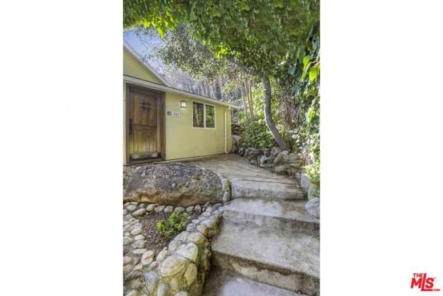 449 Short Trail Lane, Topanga, CA 90290 (#20546654) :: The Parsons Team