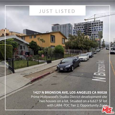 1427 N Bronson Avenue, Los Angeles (City), CA 90028 (#20546970) :: TruLine Realty