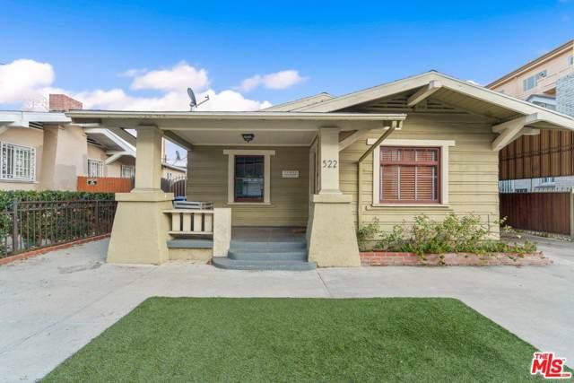 522 N Wilton Place, Los Angeles (City), CA 90004 (#20544286) :: TruLine Realty