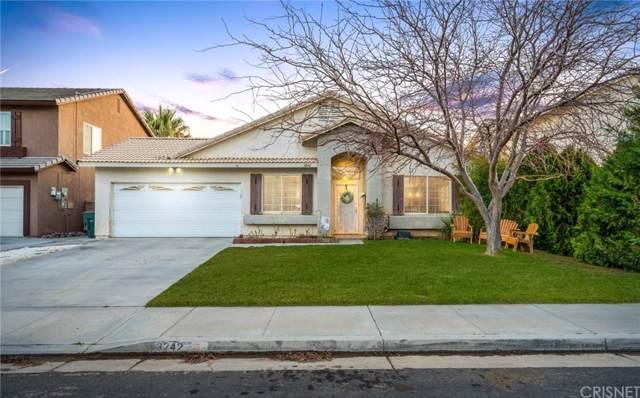 3242 Garnet Avenue, Rosamond, CA 93560 (#SR20016581) :: Randy Plaice and Associates
