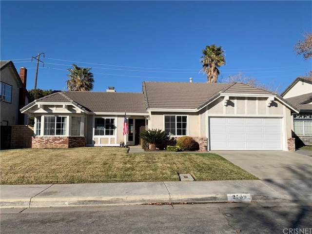 2709 Sandstone Court, Palmdale, CA 93551 (#SR20017677) :: Randy Plaice and Associates