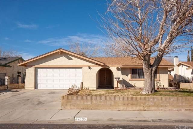 37635 28TH Street E, Palmdale, CA 93550 (#SR20012813) :: The Agency