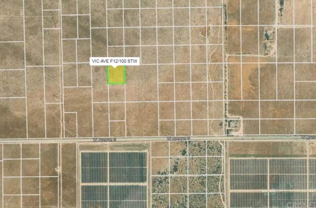 10000 Vac/Vic Avenue F12/100 Stw, Antelope Acres, CA 93536 (#SR20020322) :: The Parsons Team