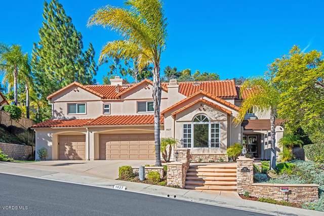 1827 Kirsten Lee Drive, Westlake Village, CA 91361 (#220001105) :: Randy Plaice and Associates