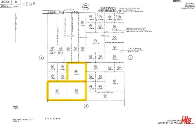 0 E 218 St. E And Ave. S-8 - 3 Parcels, Llano, CA 93591 (#20-550830) :: Randy Plaice and Associates