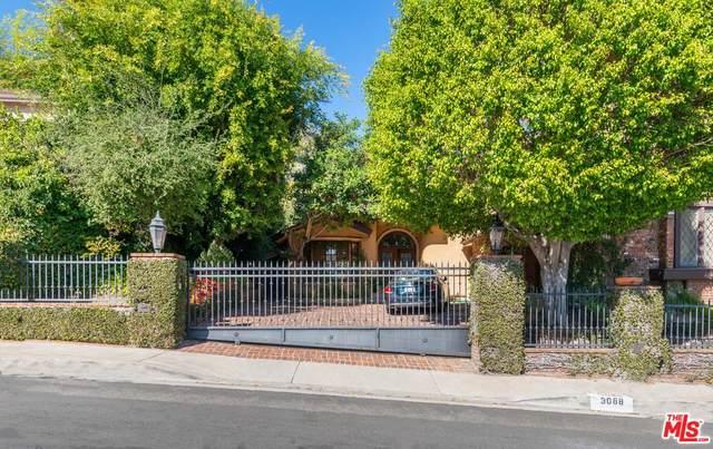 3088 Deep Canyon Drive, Beverly Hills, CA 90210 (#20553182) :: Randy Plaice and Associates
