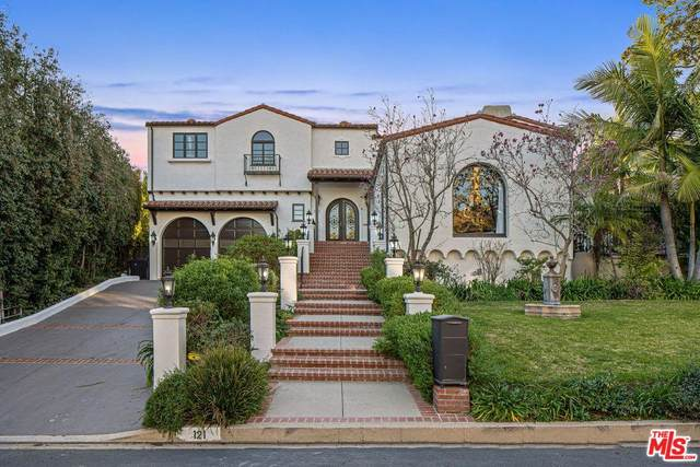 121 N Gunston Drive, Los Angeles (City), CA 90049 (#20553602) :: Randy Plaice and Associates