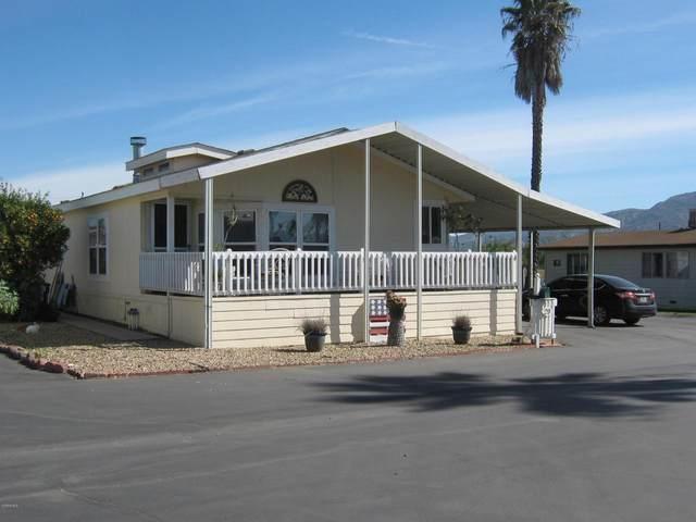 1500 Richmond Road #29, Santa Paula, CA 93060 (#220001762) :: Randy Plaice and Associates