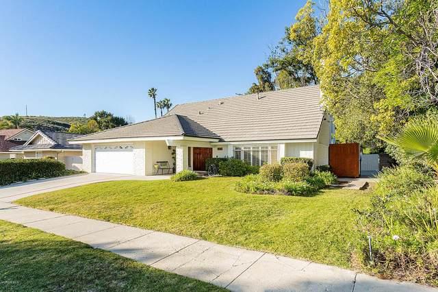 4016 Verde Vista Drive, Thousand Oaks, CA 91360 (#220001780) :: Randy Plaice and Associates