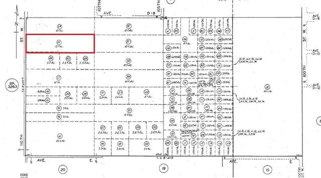 0 110TH ST W AND AVENUE D8, Antelope Acres, CA 93536 (#SR20035212) :: The Parsons Team