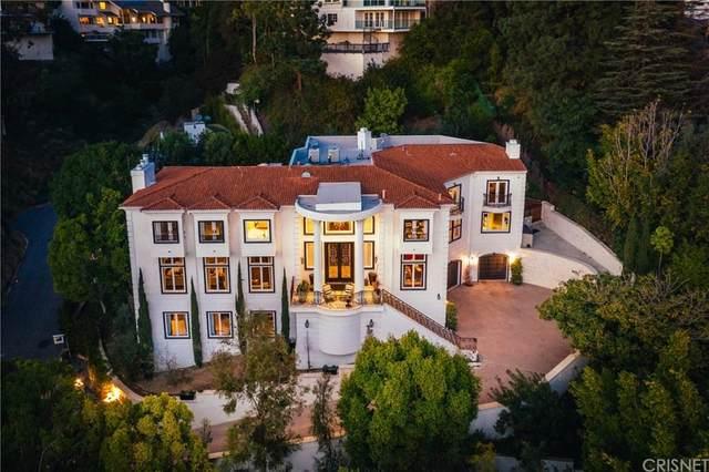 1404 Dawnridge Drive, Beverly Hills, CA 90210 (#SR20029105) :: The Pratt Group