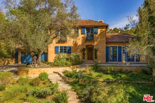 1416 Bluebird Avenue, Los Angeles (City), CA 90069 (#20556140) :: TruLine Realty