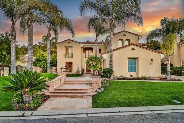 2740 Rainfield Avenue, Westlake Village, CA 91362 (#220001909) :: The Pratt Group