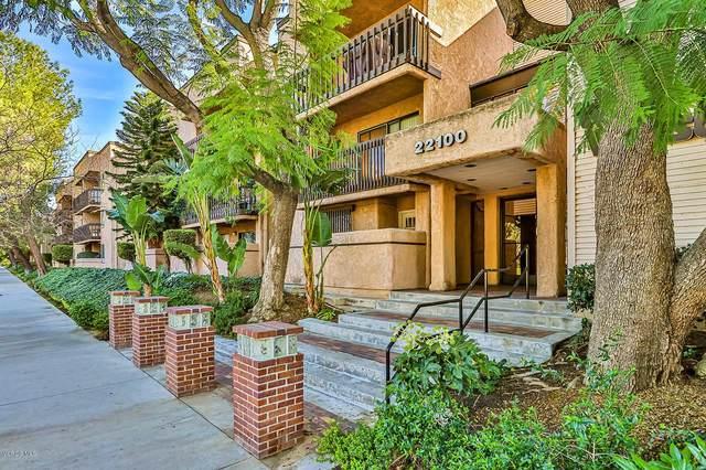 22100 Burbank Boulevard 357F, Woodland Hills, CA 91367 (#220001978) :: Lydia Gable Realty Group