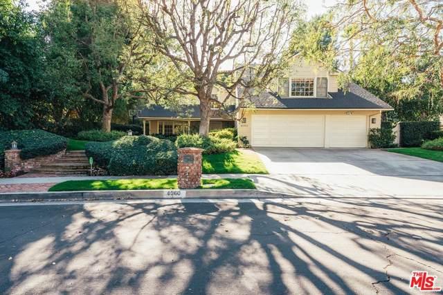 4060 Falling Leaf Drive, Encino, CA 91316 (MLS #20557262) :: The Sandi Phillips Team