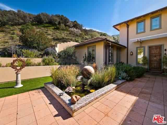1045 Cold Canyon Rd, Calabasas, CA 91302 (#20-561418) :: Randy Plaice and Associates