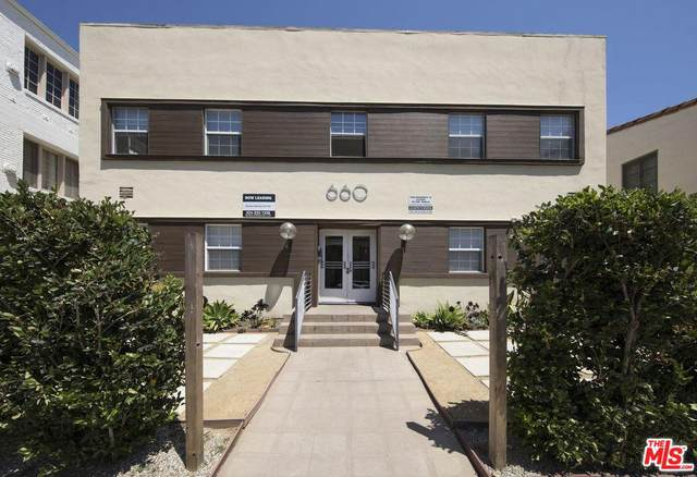 660 S Cloverdale Ave, Los Angeles, CA 90036 (MLS #20-562230) :: Hacienda Agency Inc