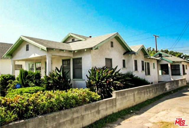 4215 S Budlong Ave, Los Angeles, CA 90037 (MLS #20-562732) :: Hacienda Agency Inc