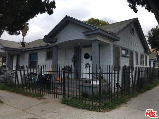 1056 W 42ND Pl, Los Angeles, CA 90037 (MLS #20-562236) :: Hacienda Agency Inc
