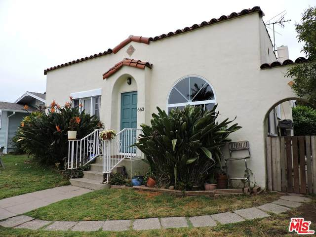 653 Flower Avenue, Venice, CA 90291 (#20564714) :: The Suarez Team