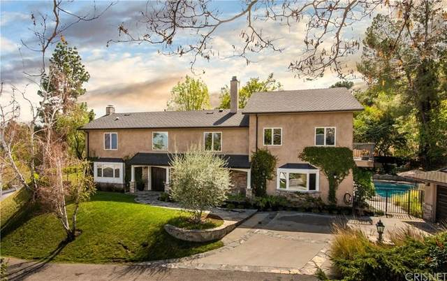 3725 Terrace View Drive, Encino, CA 91436 (#SR20059884) :: Randy Plaice and Associates