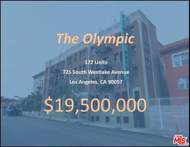 725 S Westlake Ave, Los Angeles, CA 90057 (MLS #20-566264) :: Hacienda Agency Inc