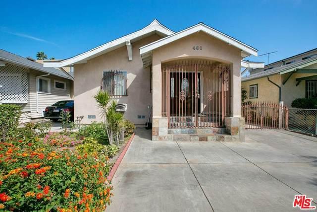 460 N Serrano Ave, Los Angeles, CA 90004 (#20-566368) :: SG Associates