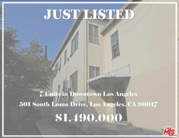501 Loma Drive, Los Angeles (City), CA 90017 (#20567060) :: TruLine Realty