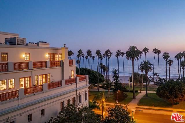 603 Ocean Ave Penthouse, Santa Monica, CA 90402 (MLS #21-778788) :: Zwemmer Realty Group