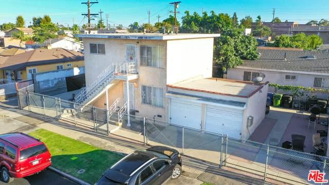 710 W 91St St, Los Angeles, CA 90044 (#21-783068) :: The Pratt Group
