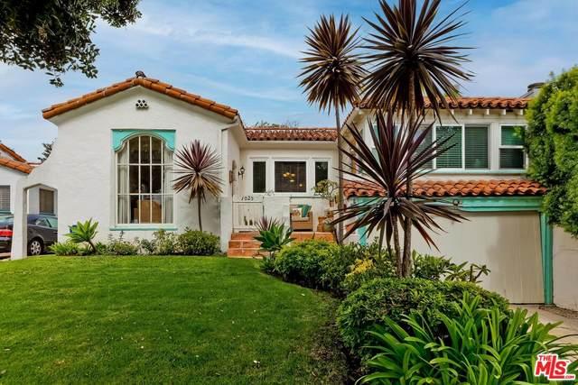 1025 Cedar St, Santa Monica, CA 90405 (#21-783206) :: TruLine Realty