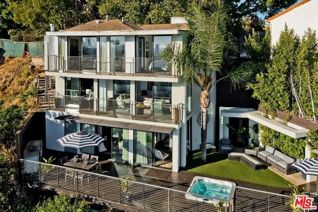 8666 Hollywood Blvd, Los Angeles, CA 90069 (#21-785576) :: TruLine Realty