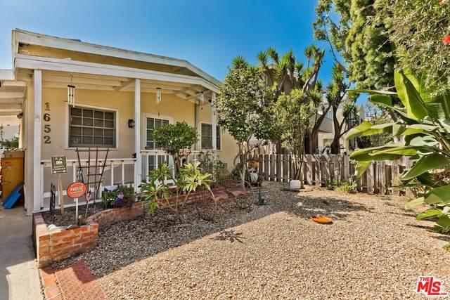 1652 Berkeley St, Santa Monica, CA 90404 (MLS #21-786328) :: Mark Wise | Bennion Deville Homes