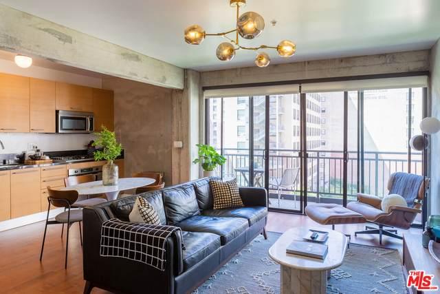 416 S Spring St #607, Los Angeles, CA 90013 (MLS #21-786452) :: Mark Wise | Bennion Deville Homes