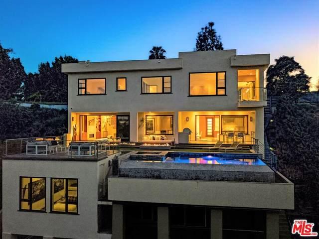 1018 Stradella Rd, Los Angeles, CA 90077 (#21-786526) :: TruLine Realty