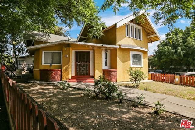 158 S Hoover St, Los Angeles, CA 90004 (#21-786838) :: The Pratt Group