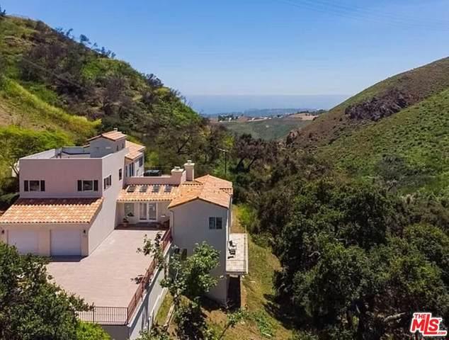 4345 Escondido Trl, Malibu, CA 90265 (MLS #21-786888) :: Mark Wise | Bennion Deville Homes