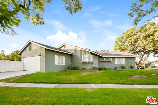 1027 W Park Ln, Santa Ana, CA 92706 (MLS #21-786980) :: The John Jay Group - Bennion Deville Homes