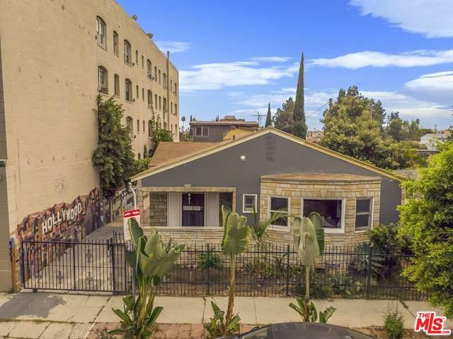 5608 Fernwood Ave, Los Angeles, CA 90028 (#21-787020) :: The Parsons Team
