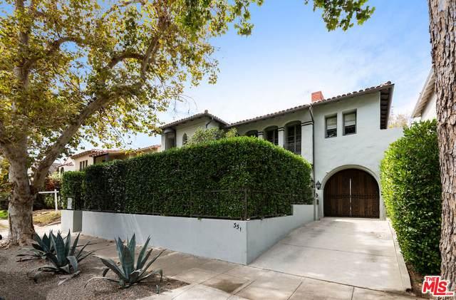349 N Mansfield Ave, Los Angeles, CA 90036 (#21-787282) :: The Suarez Team